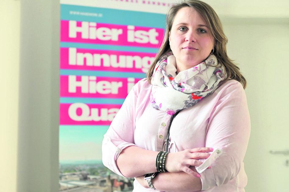 Susanne Schneider (40) vertritt die Handwerkerschaft der Stadt.