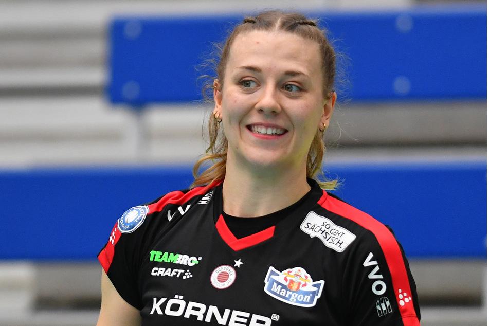 Maja Storck machte im Hinspiel gegen Potsdam 25 (!) Punkte.
