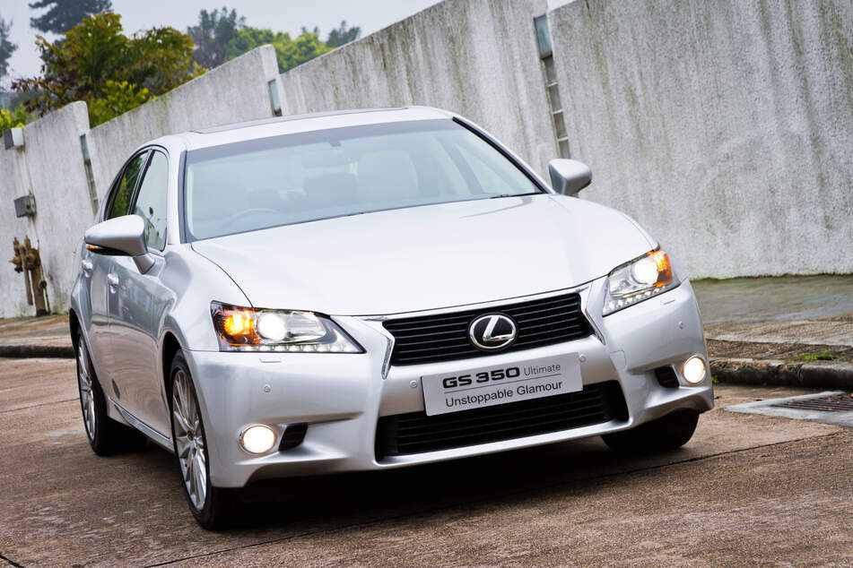 Unter anderem der Lexus GS 350 wird derzeit zurückgerufen. (Symbolbild)