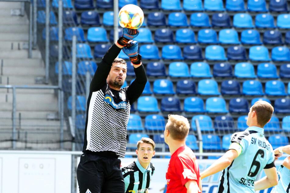 Markus Scholz (33) war beim SV Waldhof Mannheim zuletzt nur noch die Nummer drei.