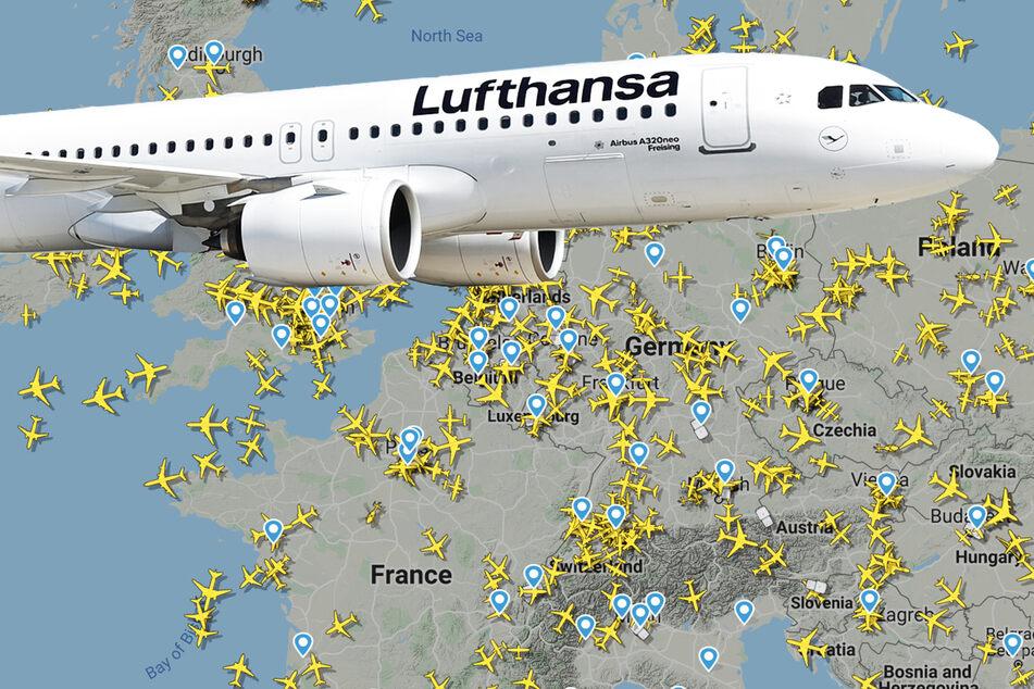Reisen verboten: So viel weniger Flugzeuge sind jetzt am Himmel!