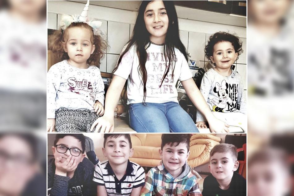 Fünf der sieben Kinder aus der Familie Imerlishvili sind in Deutschland geboren.