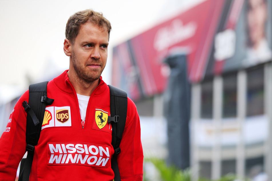 Sebastian Vettel geht in sein letztes Ferrari-Jahr.