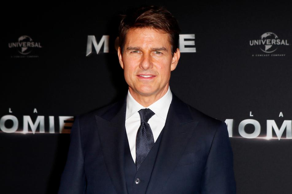 """Tom Cruise 2017 bei der Premiere des Film """"The Mummy"""" (""""Die Mumie"""")."""
