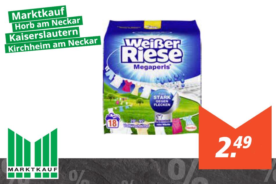 Weißer Riese Waschmittel für 2,49 Euro