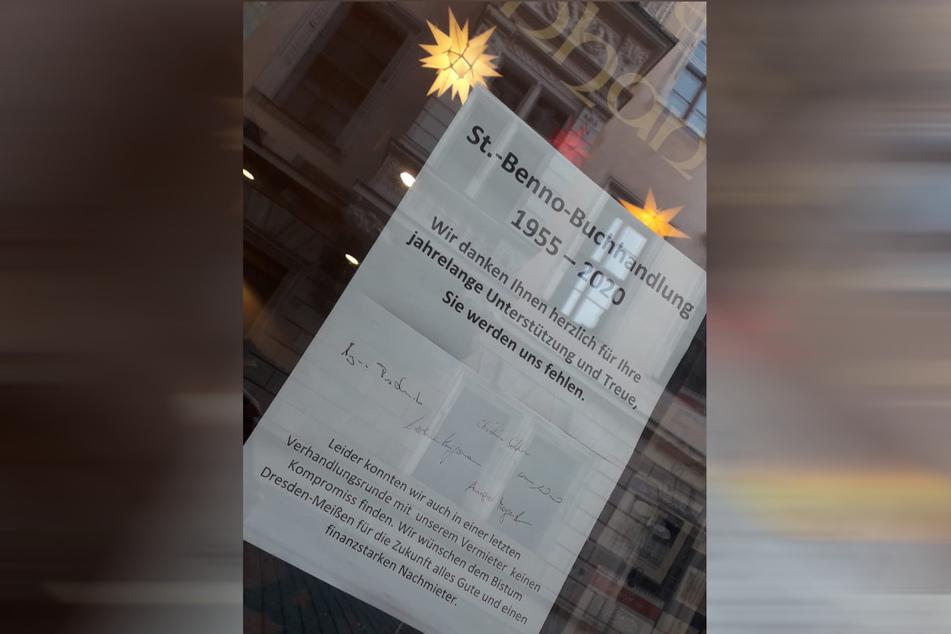 """Die """"St.-Benno""""-Buchhandlung hat zwei dezidiert antikirchliche Repressionsperioden überlebt, weil Inhaber und Leser treu zu ihr standen. Nun muss sie wegen des hohen Mietpreises schließen."""