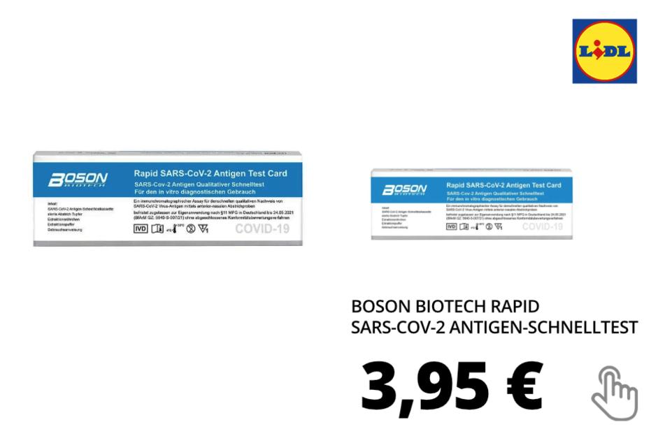 Boson Biotech Rapid Schnelltest