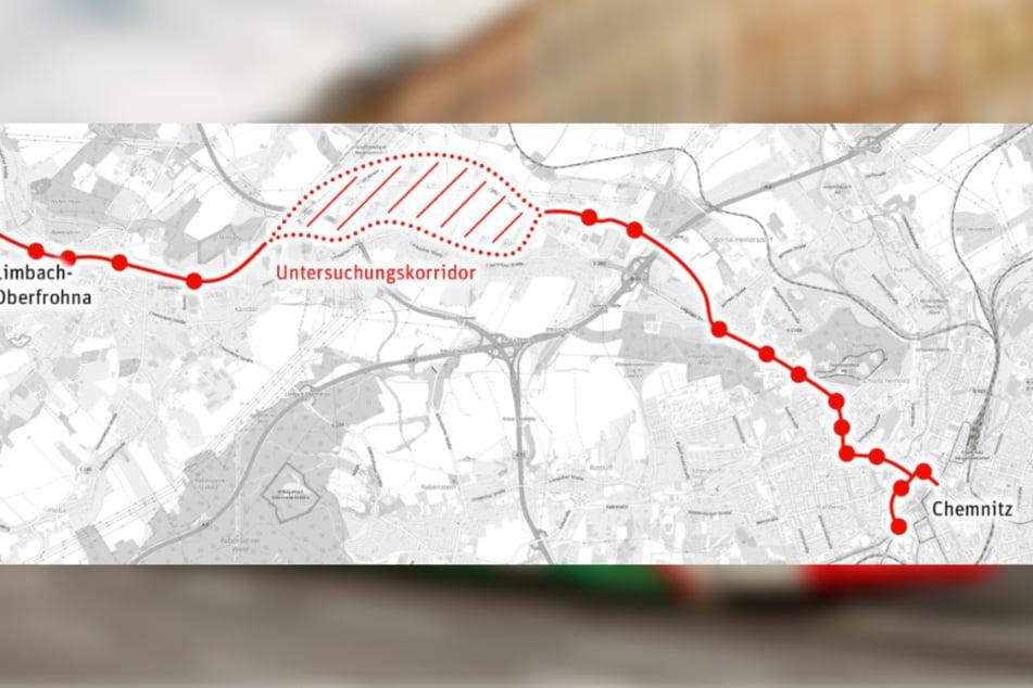 So soll die neue Bahn-Linie verlaufen.