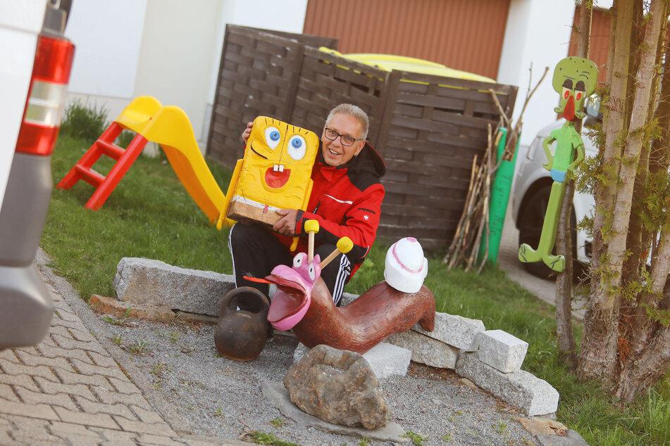 Geklauter Spongebob ist wieder aufgetaucht