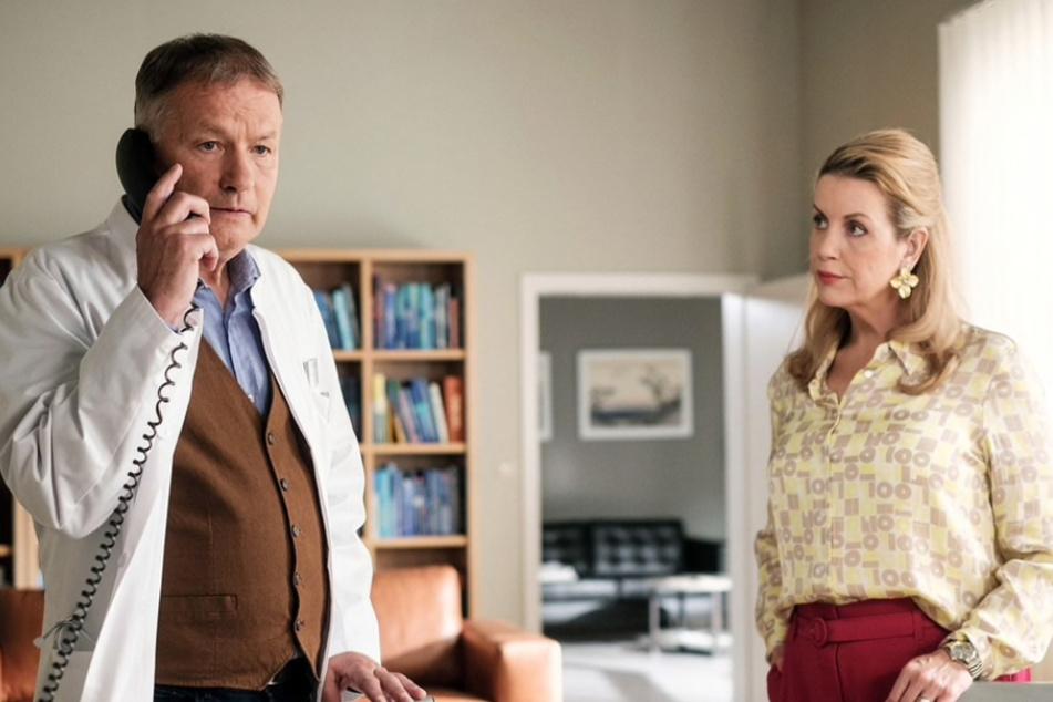 In der neuen IaF-Folge bekommt es Dr. Heilmann mal wieder mit Sarah Marquardt zu tun.