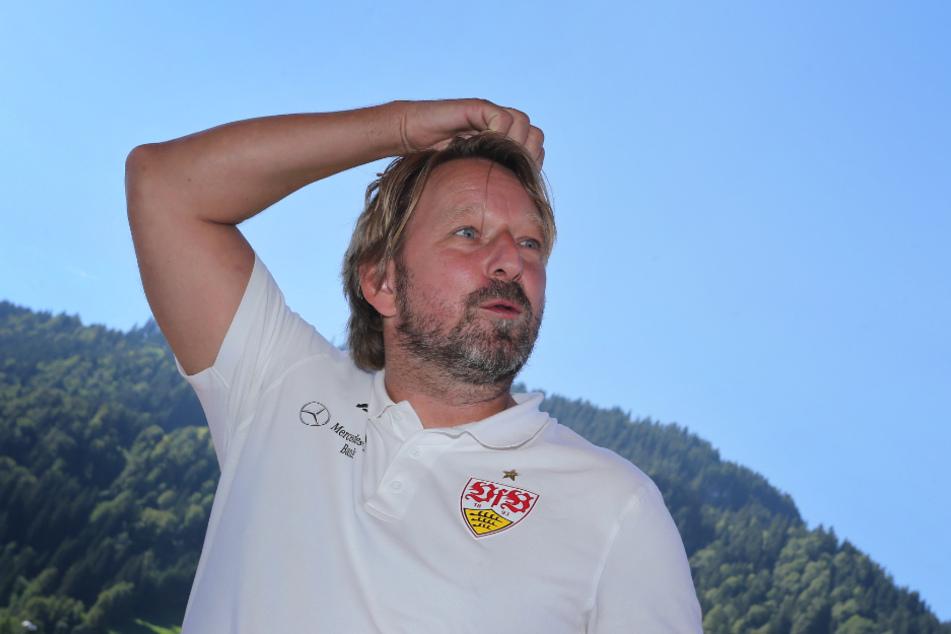 Ging mit gutem Gefühl in die Länderspielpause: VfB-Sportdirektor Sven Mislintat (48).