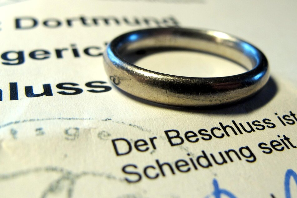 """Die meisten Paare (5,1 Prozent) sind laut Statistik nach einer Ehedauer von sechs Jahren, also im """"verflixten siebten Jahr"""" geschieden worden. (Symbolfoto)"""