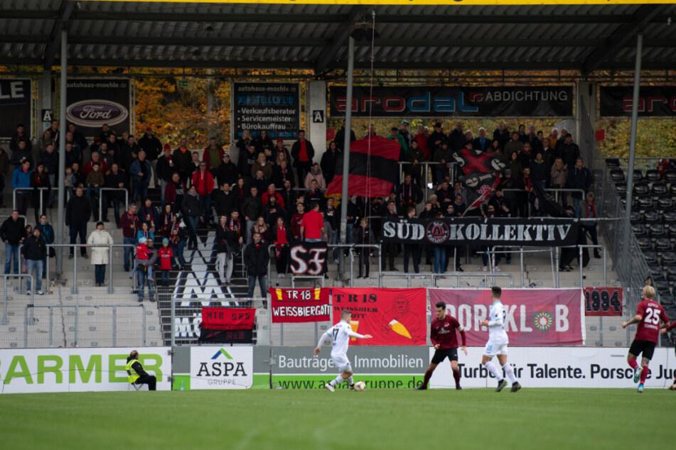 Ein Blick in das Stadion des Drittligisten SG Sonnenhof Großaspach.