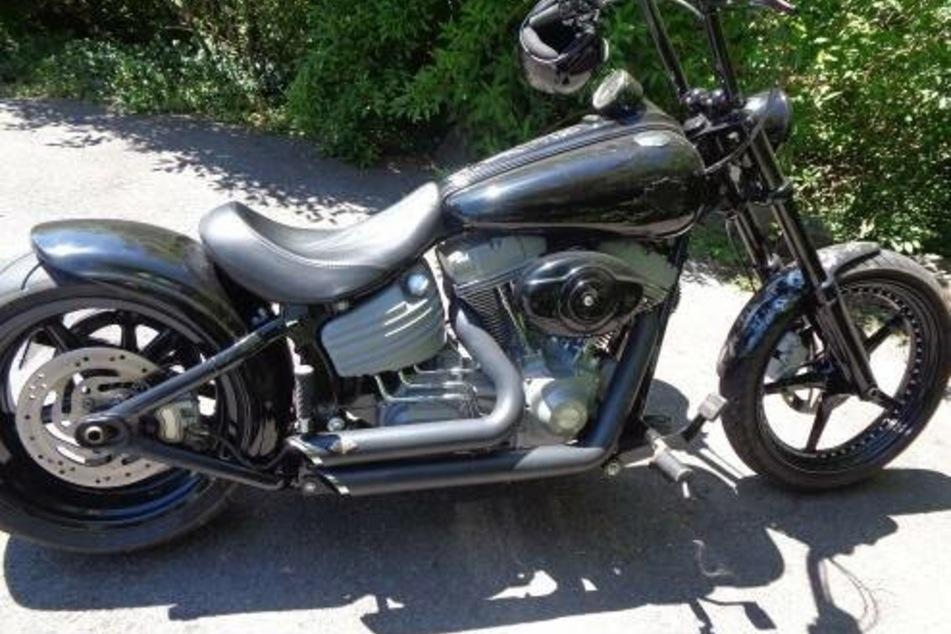 Der Auspuff einer Harley Davidson war zu laut und wurde einkassiert.