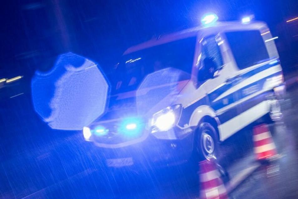 Alarmierte Einsatzkräfte wurden bei der Absuche der Umgebung auf eine fünfköpfige Gruppe aufmerksam und nahmen einen 21-Jährigen fest. (Symbolbild)