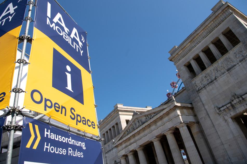 """Unter anderem auf dem Königsplatz findet die """"IAA Mobility"""" von 7. bis 12. September statt."""