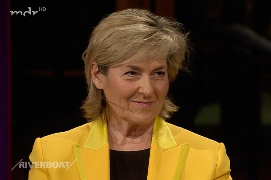 MDR-Intendantin Karola Wille (61) sprach im MDR-Riverboat unter anderem über Gleichberechtigung und die Rundfunkgebühr.