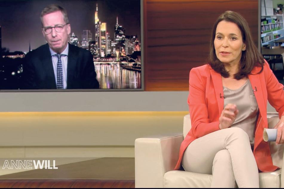 Michael Kretschmer (44, CDU) war am Sonntag zu Gast bei Anne Will - mit dem per Video zugeschalteten Wirtschaftswissenschaftler Dr. Michael Hüther (57) lieferte er sich ein hitziges Rededuell.