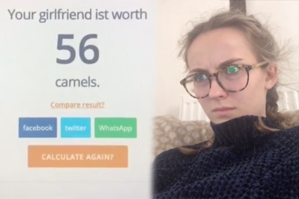 TikTok users are now calculating their partners' worth in camels