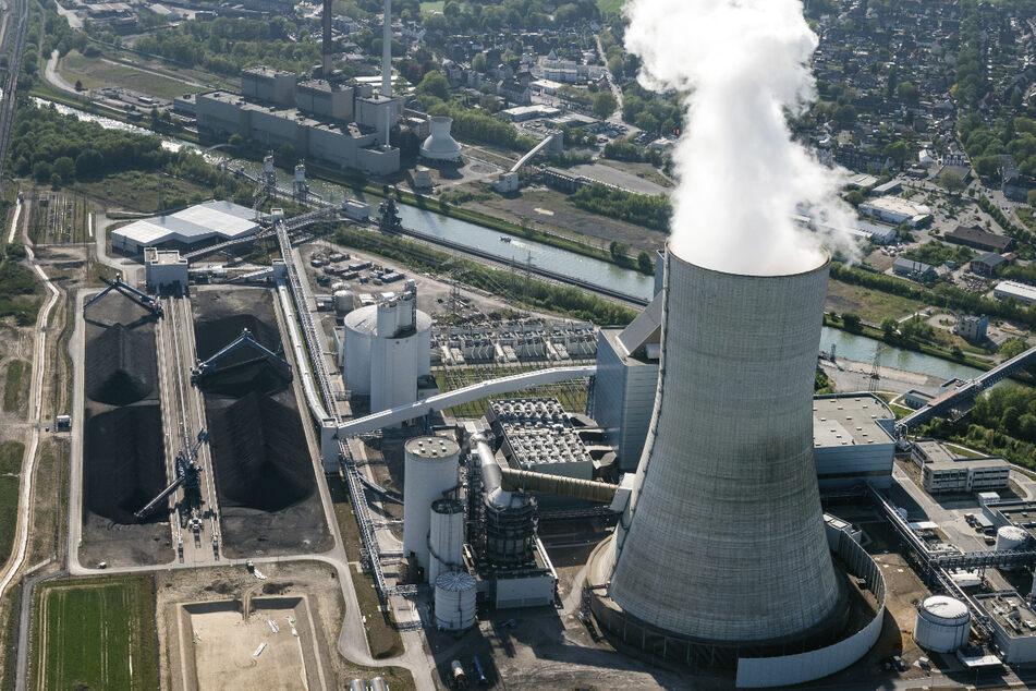 Das Kraftwerk Datteln 4 ist wegen seiner langen Laufzeit und des damit verbundenen Kohlendioxid-Ausstoßes umstritten. (Archivbild)