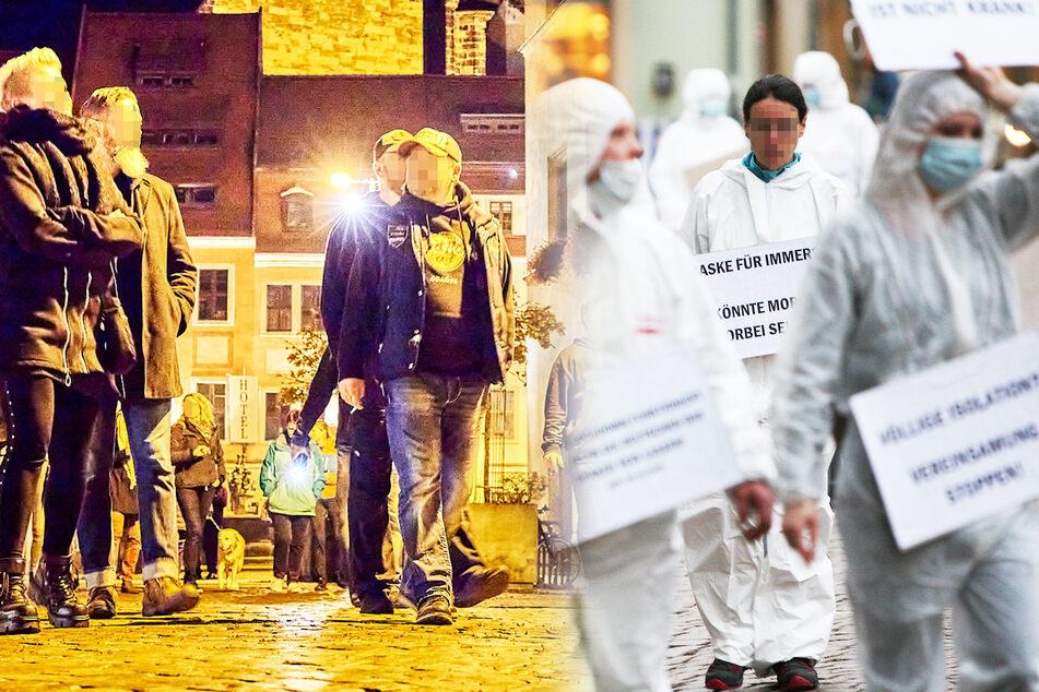 Gleichzeitige Spaziergänge in mehreren Orten Sachsens: Besorgte Eltern oder Corona-Leugner?