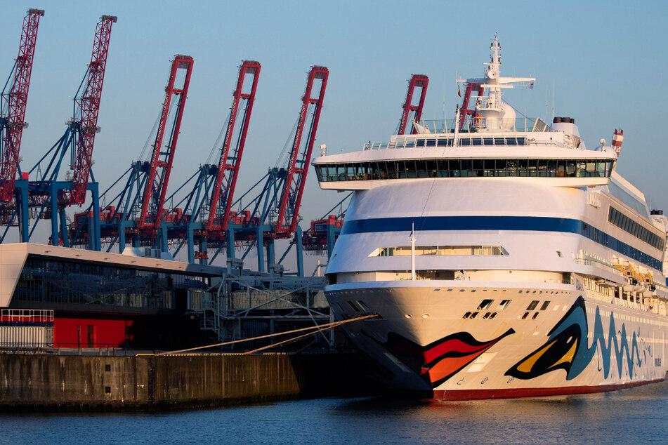 Die Kreuzfahrtschiffe von Aida sind bekannt für den Kussmund am Bug. (Archivbild)