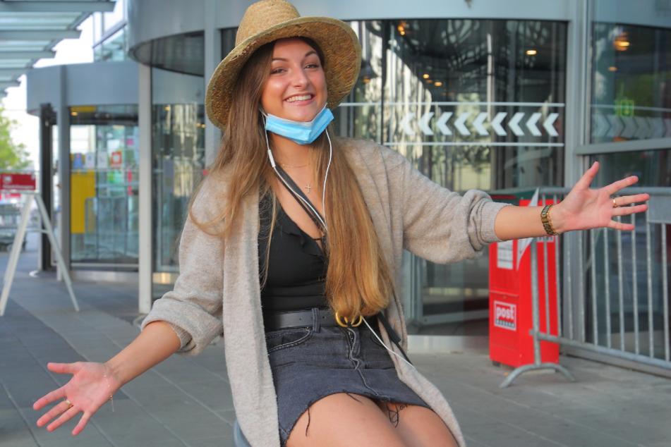 Juliana Scharf (19) freut sich trotz all der Aufregung im Vorfeld auf den Urlaub im Ferienhaus.