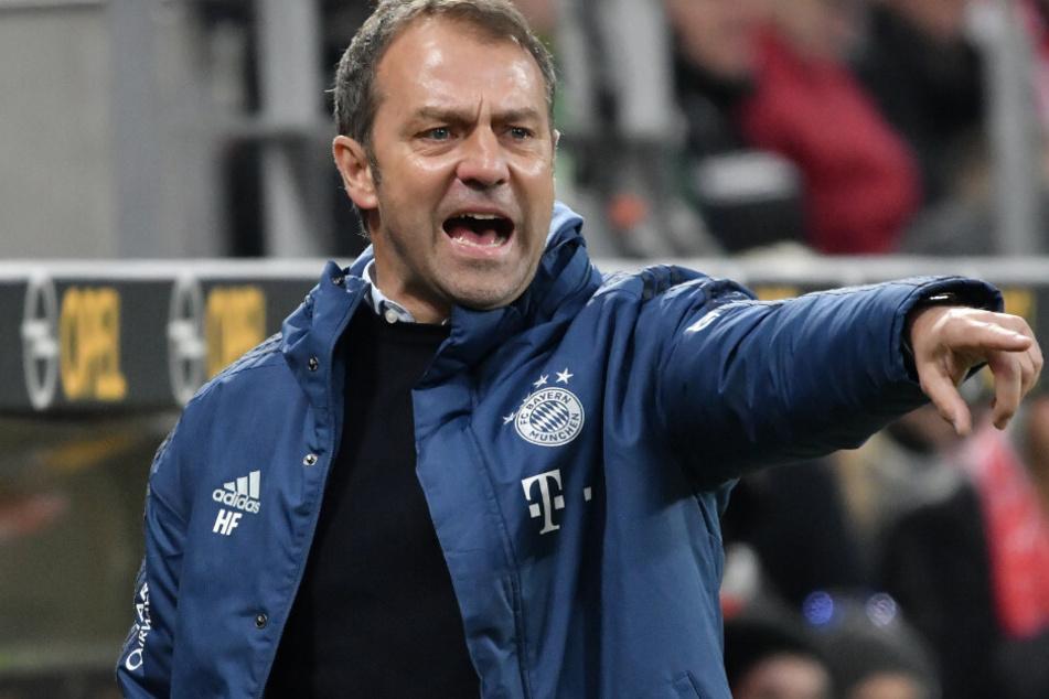 Bayern-Trainer Hansi Flick gibt sich flexibel. (Archivbild)