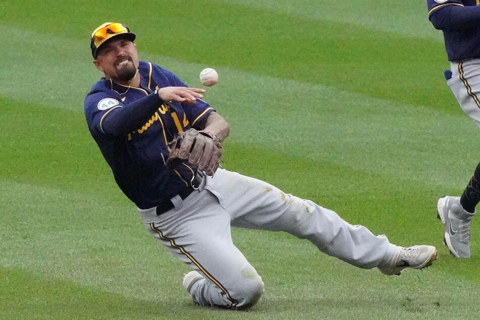 Second baseman Jace Peterson of the Milwaukee Brewers.