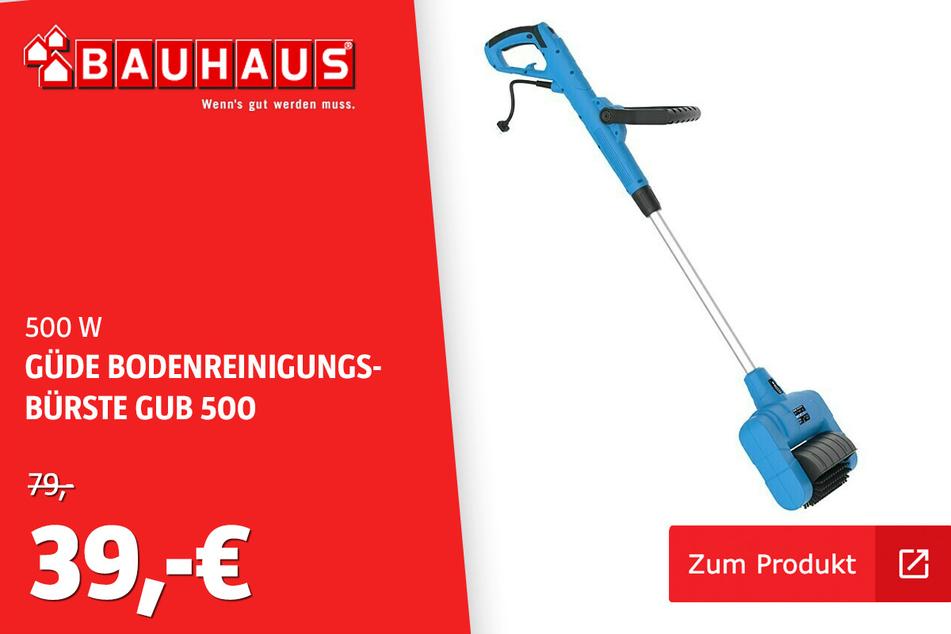 Bodenreinigungsbürste GUB 500 für 39 Euro