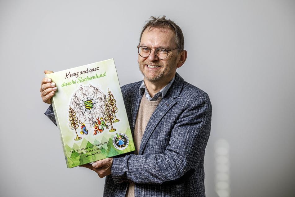 "Sachsens ""Spiele-König"" Ralf Viehweg (61)."