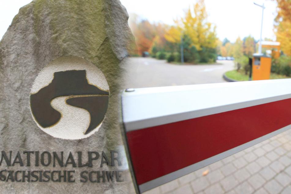 Die Parkplätze in der Sächsischen Schweiz und anderer beliebter Ausflugsziele der Region werden gesperrt.