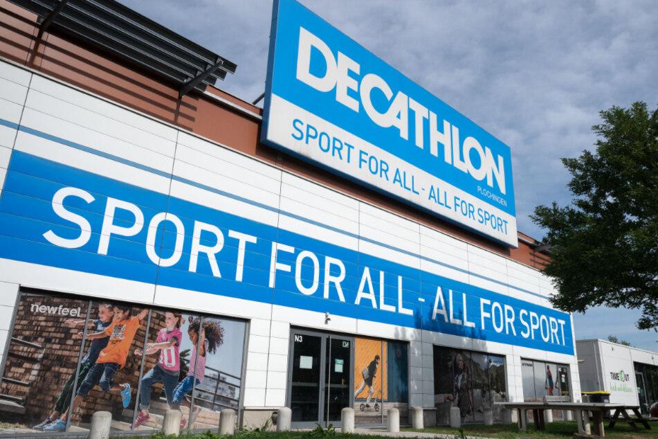 Blick auf die Deutschland-Zentrale von Decathlon in Plochingen. Der französische Sportartikelriese treibt seine Expansion voran.