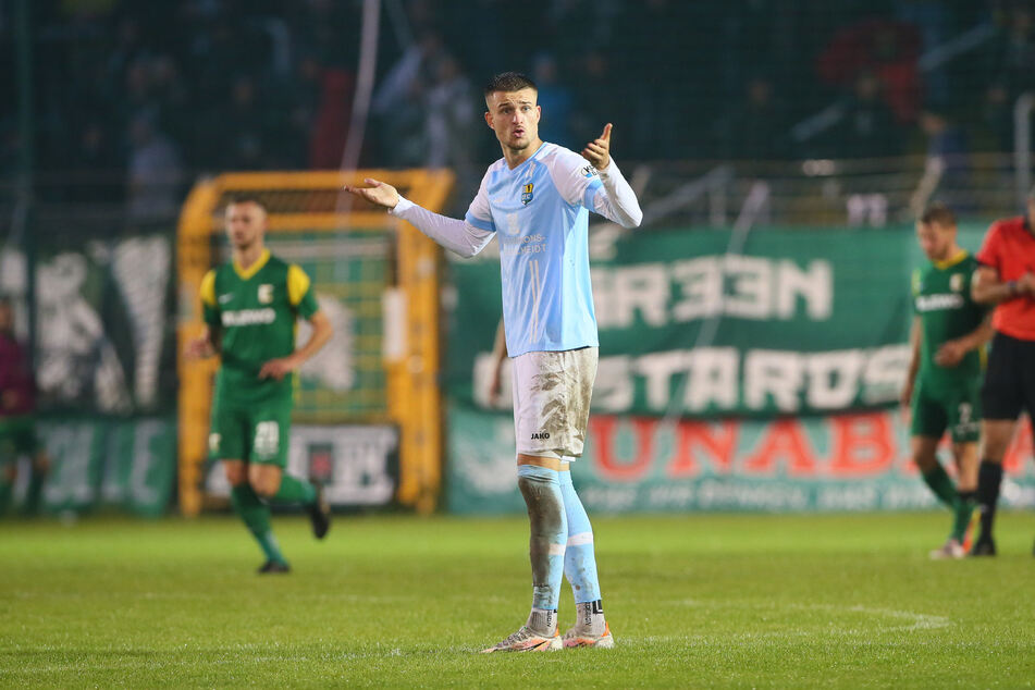 Kilian Pagliuca traf gegen den Berliner FC zum 1:0. (Archivbild)