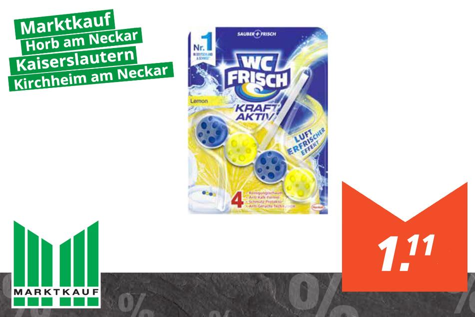 WC-Frisch Kraft-Aktiv-Duftspender für 1,11 Euro Frosch Spül-Lo