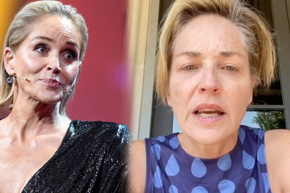 "Sharon Stone's powerful words: ""Only women in power will fight for coronavirus testing"""