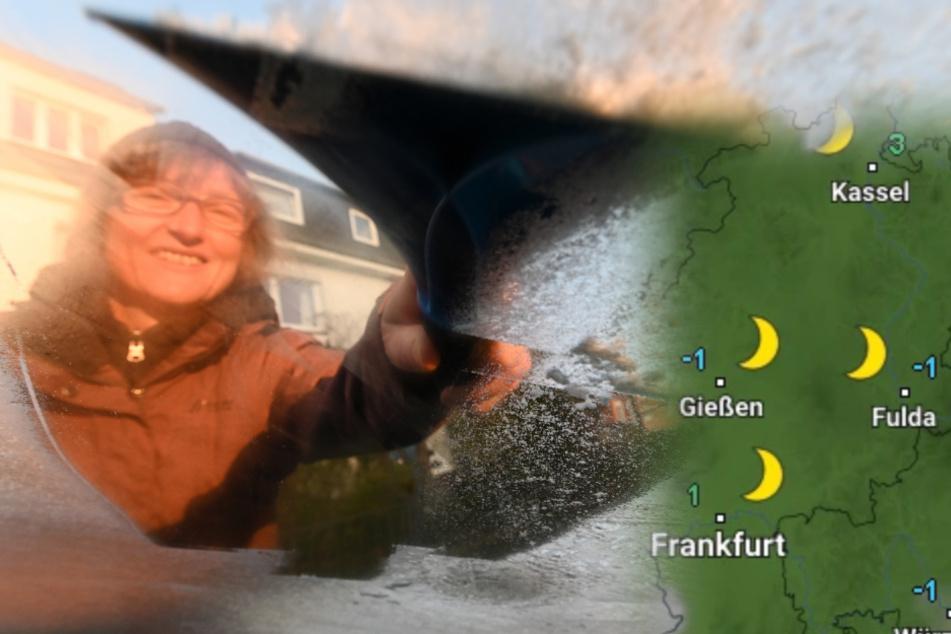 Es wird kalt in Hessen: in den Nächten auch Frost möglich