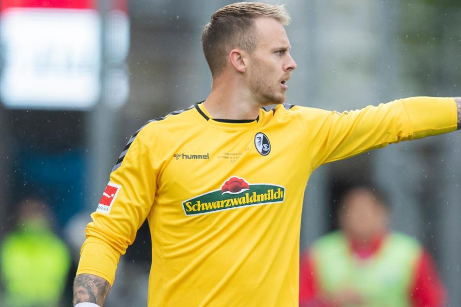 Der Freiburger Keeper Mark Flekken (28) überzeugt mit Leistung.