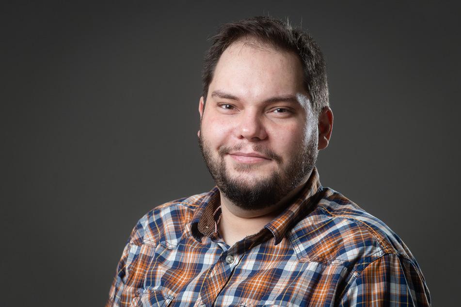 Stadtrat Toni Rotter (32, Grüne).