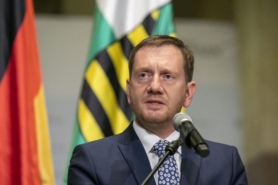 Ministerpräsident Michael Kretschmer (45,CDU) appelliert an die Sachsen.
