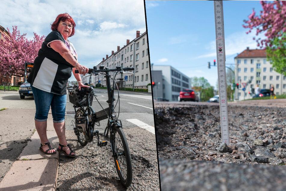 Chemnitz: Trotz Baustellen: Chemnitz wird seine Schlaglöcher nicht los