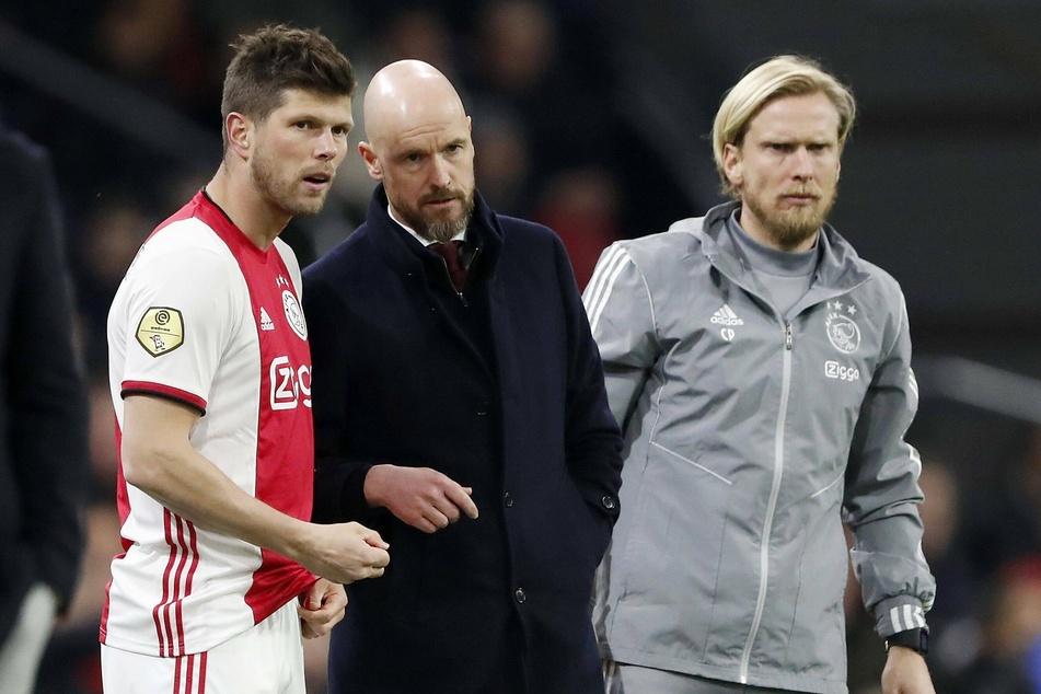 Ajax Amsterdams Co-Trainer Christian Poulsen (r.) hat bis mindestens 13. März Hausarrest erhalten.