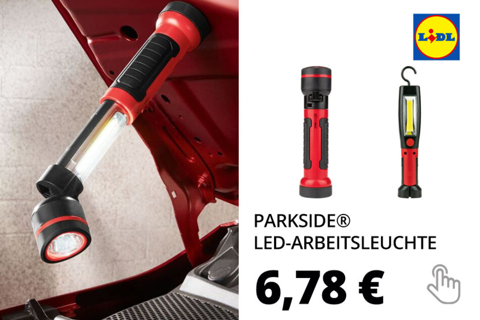 PARKSIDE® LED-Arbeitsleuchte, inklusive Batterien