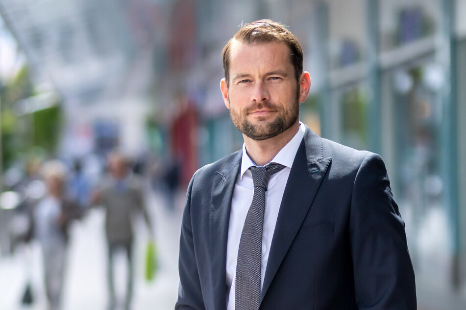 Spürt den Corona-Verlust und sorgt sich um eine bestimmte Branche: Thomas Stoyke (39) vom Chemnitz Center.