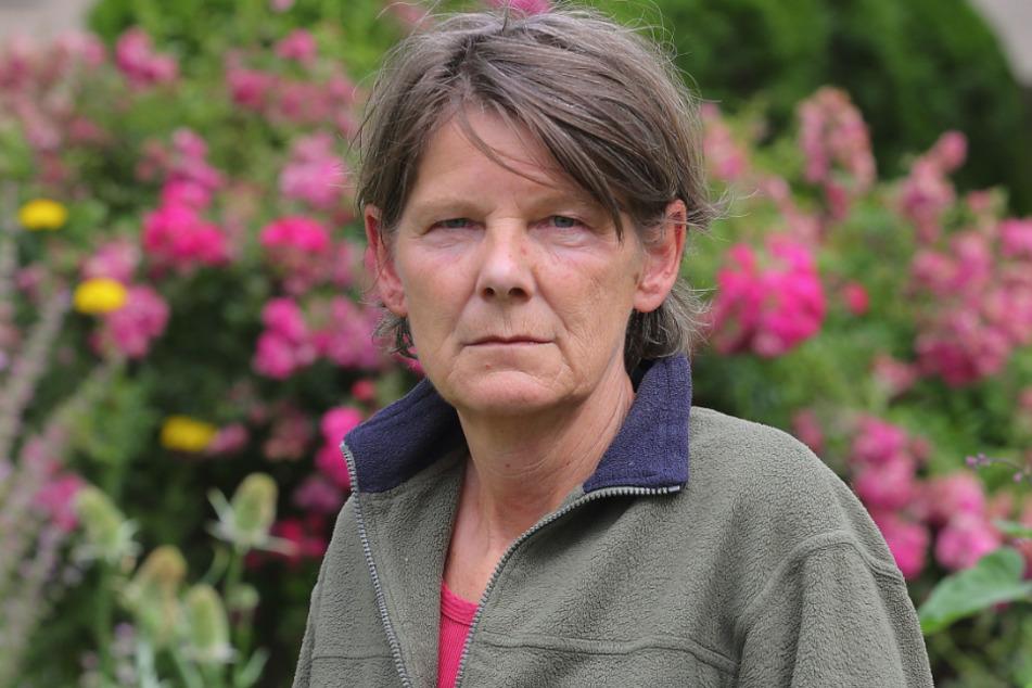 Projektkoordinatorin Heike Löffler (62) sorgt sich um die Eskalation der Bedrohung gegen den interkulturellen Garten.