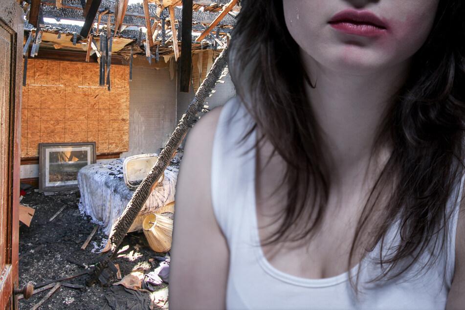 Die drei Angeklagten sollen die Frau unter einem Vorwand in ein Abrisshaus im Frankfurter Ostend gelockt und dort über Stunden hinweg mehrfach vergewaltigt haben. (Symbolfoto, Bildmontage)