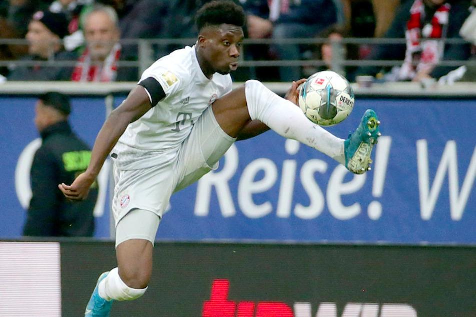 Alphonso Davies (19) vom FC Bayern München möchte Menschen unterhalten.