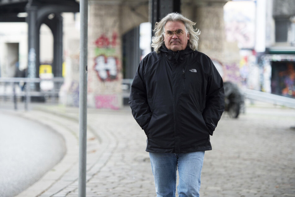 "Regisseur Paul Greengrass (65) hier 2016 beim Dreh von ""Jason Bourne"" in Berlin, hat mit ""Neues aus der Welt"" einen herausragenden Film gedreht."