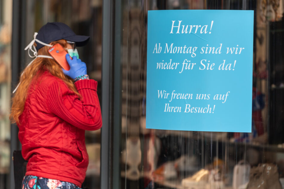 Nach Rüge: Große Geschäfte können ab sofort beschränkt öffnen