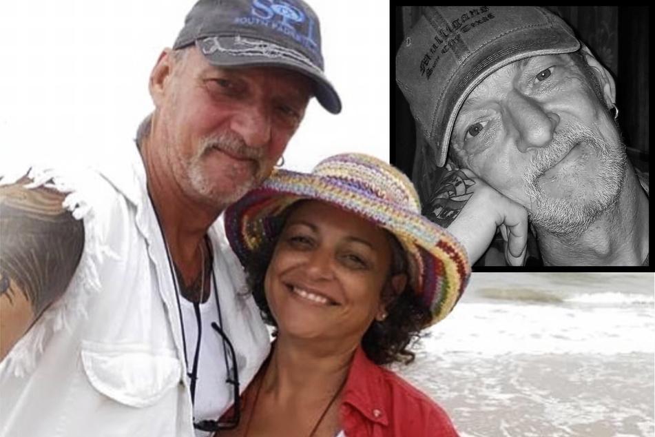 """""""Goodbye Deutschland""""-Auswanderer Werner Boesel ist gestorben. Hier hat er seine amerikanische Frau Christine im Arm."""